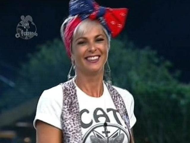 18.nov,2014 - Indica para a roça pelo fazendeiro DH, Bruna Tang vota em MC Bruninha para enfrentá-la na berlinda