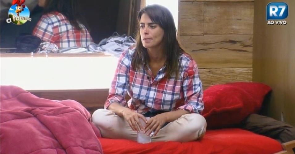 20.nov.2014 - Heloísa diz estar com pena de Léo Rodriguez