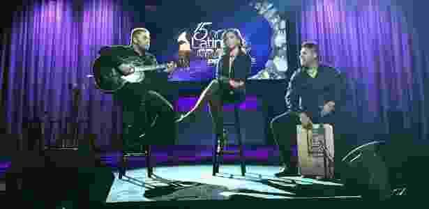 """Anitta apresentar a canção """"Zen"""" na 15ª edição do Grammy Latino - Reprodução/Facebook"""