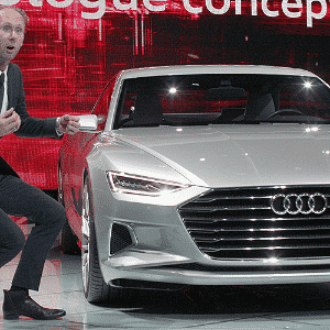 Audi Prologue Concept - David McNew/Getty Images/AFP