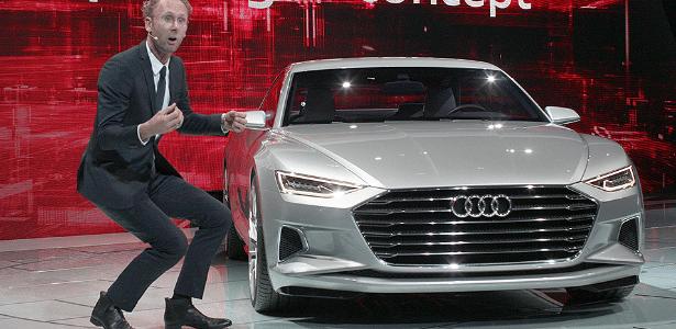 Novo designer-chefe da Audi, Mark Lichte fez Scirocco e o conceito CrossBlue na Volks - David McNew/Getty Images/AFP