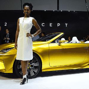 Lexus LF-C2 Concept - Frederic J. Brown/AFP
