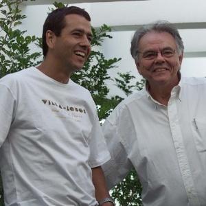 Marcos Palmeira e o pai Zelito Viana