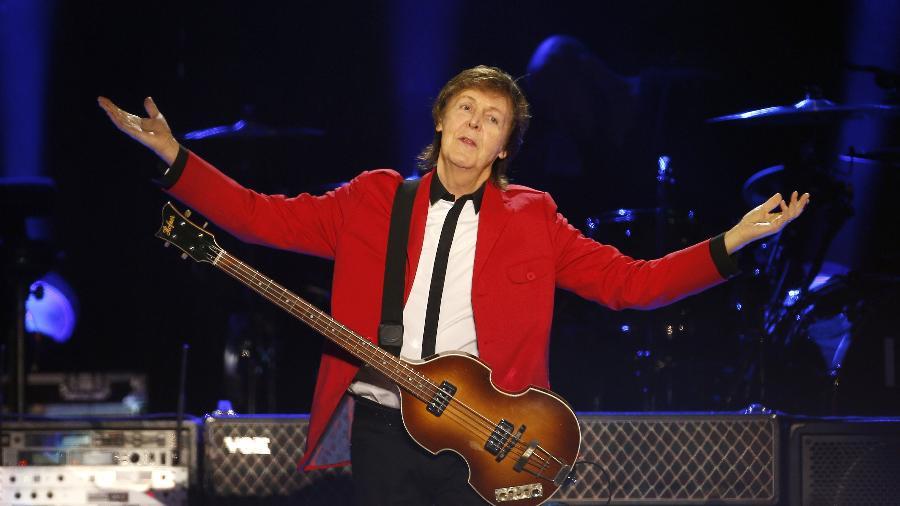 23.nov.2014 - Paul McCartney se apresenta no Estádio Mané Garrincha, em Brasília - Dida Sampaio/Estadão Conteúdo