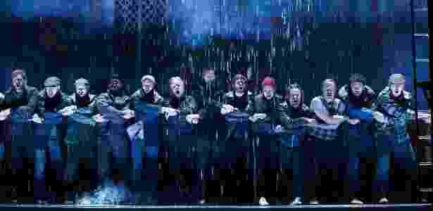 """Cena do musical da Broadway """"The Last Ship"""", escrito pelo roqueiro Sting - Divulgação"""