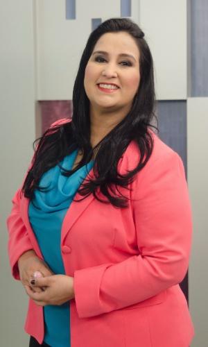 A jornalista Fabiola Gadelha