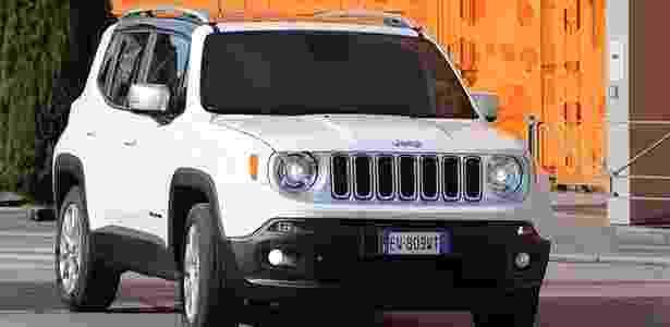 Jeep Renegade será nacional em 2015 e tem tudo que o povo quer... - Divulgação
