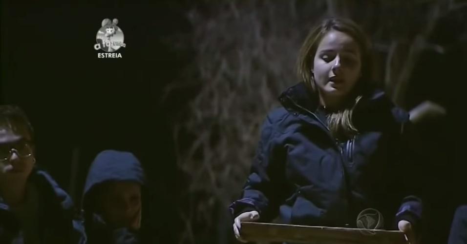 """14.set.2014 - MC Bruninha participa de primeira atividade de """"A Fazenda 7"""""""
