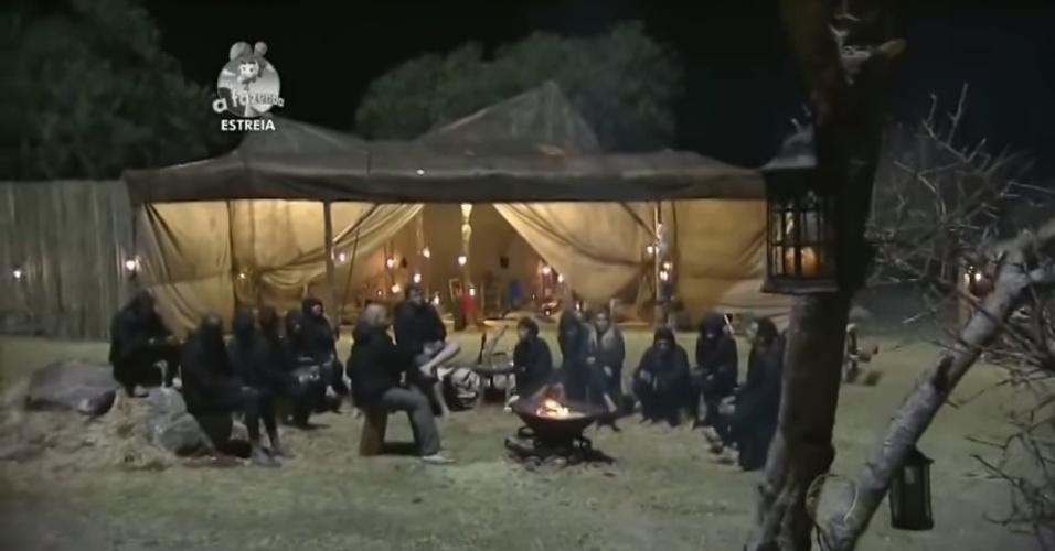 """14.set.2014 - Peões participam de atividade em """"A Fazenda 7"""""""