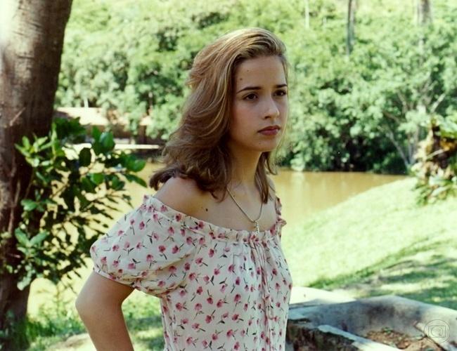 """Letícia (Paloma Duarte) em """"O Fim do Mundo"""" (1996)"""