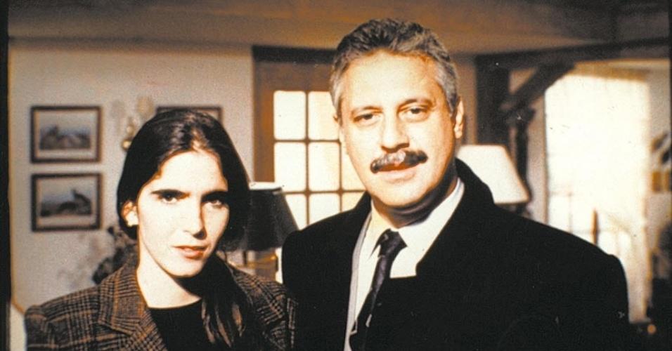 """Márcia (Malu Mader) em """"O Dono do Mundo"""" (1991)"""