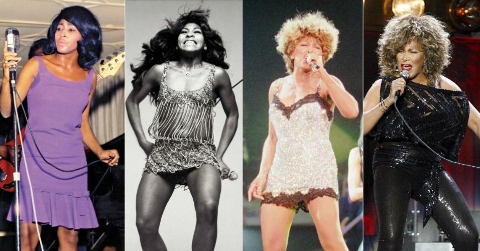 Nos 75 anos de idade da cantora Tina Turner, completados nesta quarta-feira (26), o UOL relembra alguns dos principais momentos da história da diva do rock and roll que marcou várias gerações