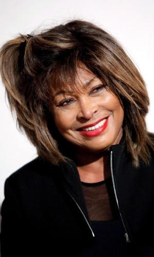 Tina Turner em maio 2009, durante a divulgação de seu álbum