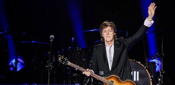 Paul McCartney durante show em São Paulo em novembro de 2014 - Manuela Scarpa/Photo Rio News