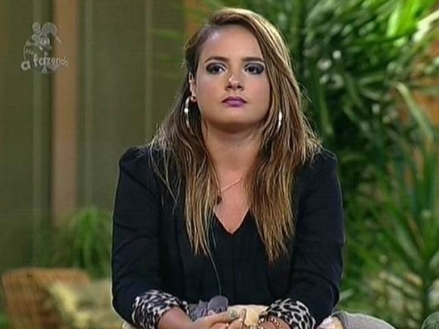 27.nov.2014 - MC Bruninha diz que gostaria que Heloísa Faissol estivesse em seu lugar na roça de