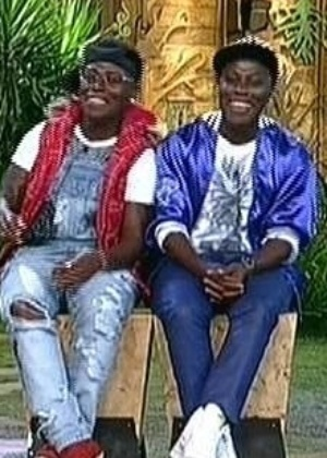 As gêmeas Pepê e Neném, que venceram MC Bruninha na roça desta quinta-feira (27)