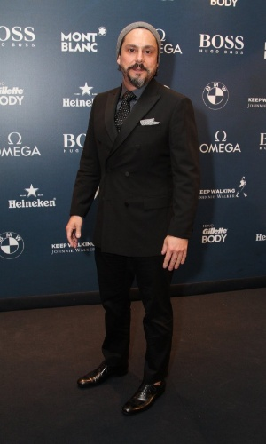 27.nov.2014 -Alexandre Nero também marcou presença na noite de premiação da revista
