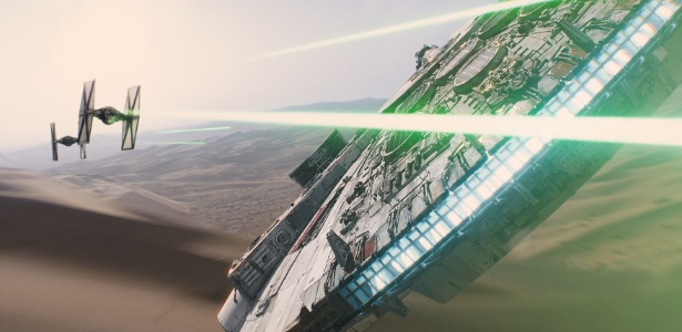 """Cena do novo """"Star Wars: Episódio VII - O Despertar da Força"""", do diretor J. J. Abrams - Reprodução"""