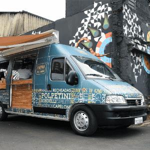 Food Truck Esquina da Pasta Gourmet, Butantan Food Park, São Paulo, SP - Murilo Góes/UOL