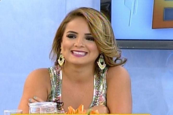 MC Bruninha participa do programa