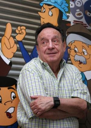 O mexicano Roberto Bolanõs criou personagens como Chaves e Chapolin
