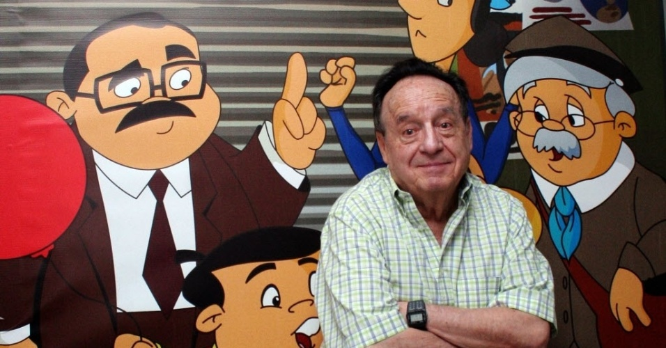 O ator Roberto Bolaños intérprete do personagem Chaves e Chapolin morreu aos 85 anos em sua casa em Cancun, no México