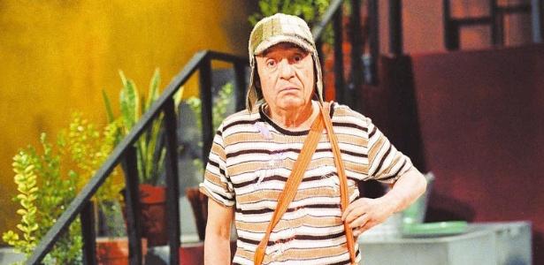 """Roberto Gómez Bolaños como """"Chaves"""" - Divulgação/SBT"""