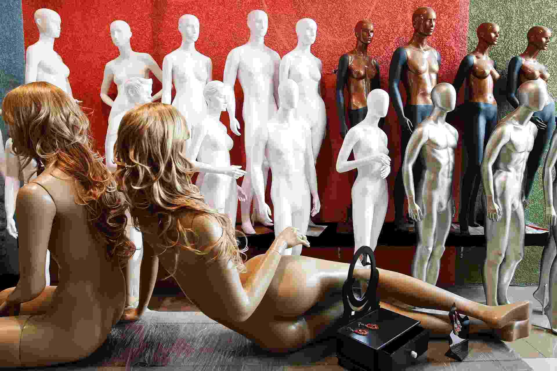 Manequins gigantes, realistas e futuristas - 1 - Reinaldo Canato/UOL