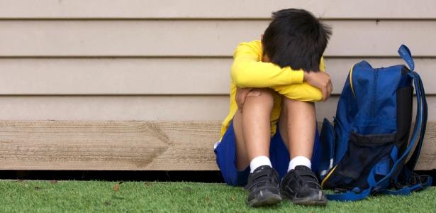 A chamada recusa escolar ocorre mais comumente entre os cinco e os sete anos - Getty Images