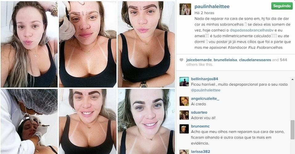 Reprodução/Instagram PaulinhaLeite