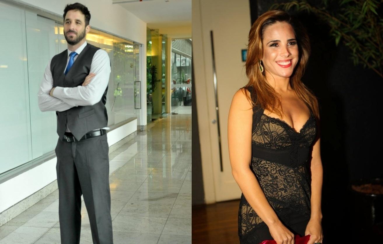 Rafinha Bastos versus Wanessa: o mal-estar entre eles teve início quando o humorista fez um comentário ao vivo no programa