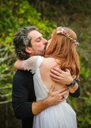 José Alfredo e Maria Isis fizeram um casamento simbólico no Monte Roraima