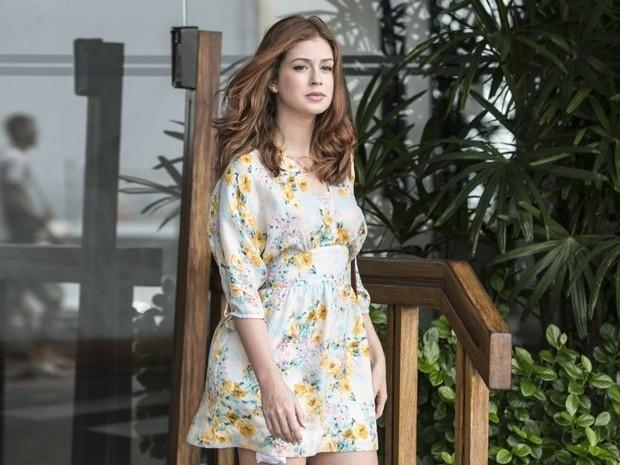 Marina Ruy Barbosa diz que acha interessante ver a evolução da personagem e está feliz com a nova fase de Ísis