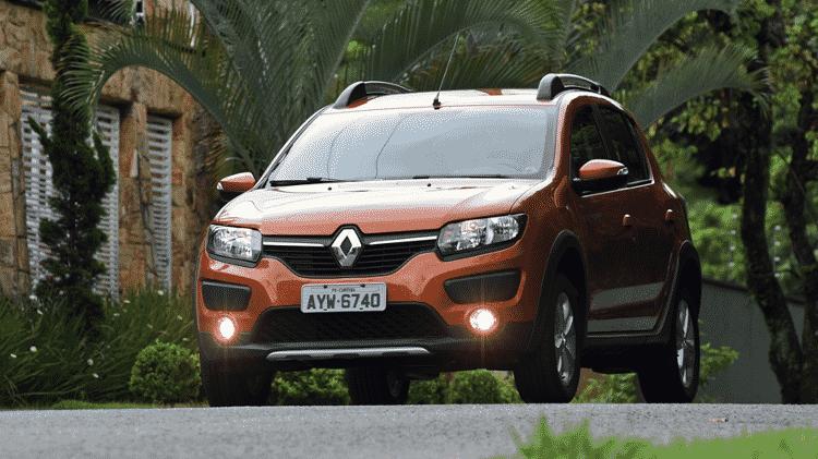 Renault Sandero 1.0 SCe 2017  - Murilo Góes/UOL - Murilo Góes/UOL