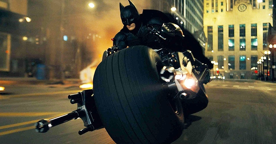 Batpod, a motocicleta do Batman