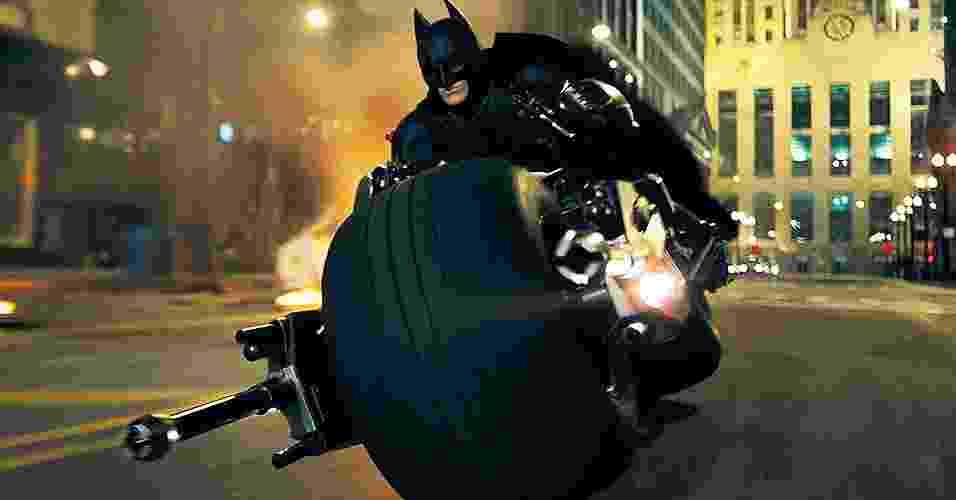 Batpod, a motocicleta do Batman - Divulgação