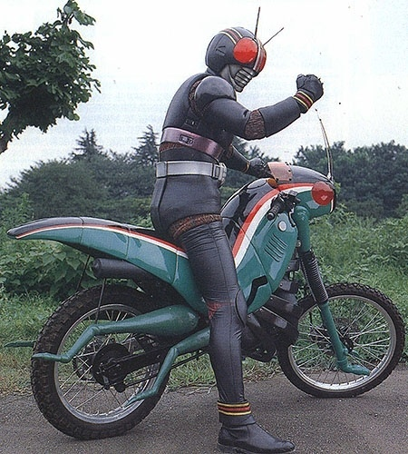 Battle Hopper do Black Kamen Rider