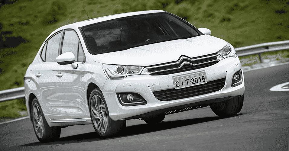 Citroën C4 Lounge 2015 THP Flex - Divulgação