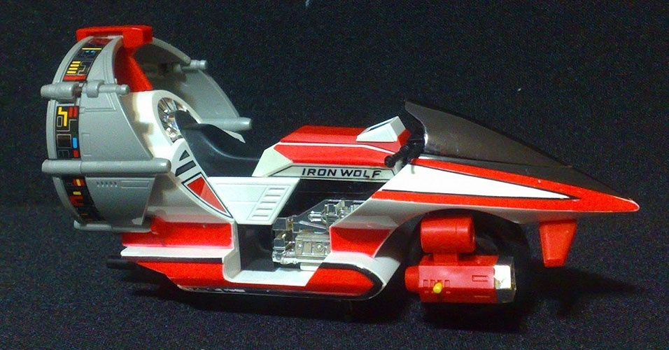Iron Wolf (ou Allan Moto Space) do Jaspion