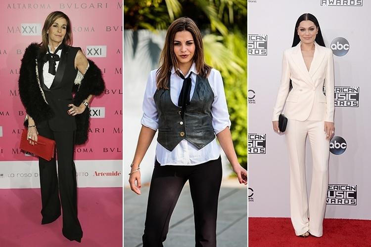 Seis peças femininas que são inspiradas no guarda-roupa masculino -  Entretenimento - BOL d096a37f8cb