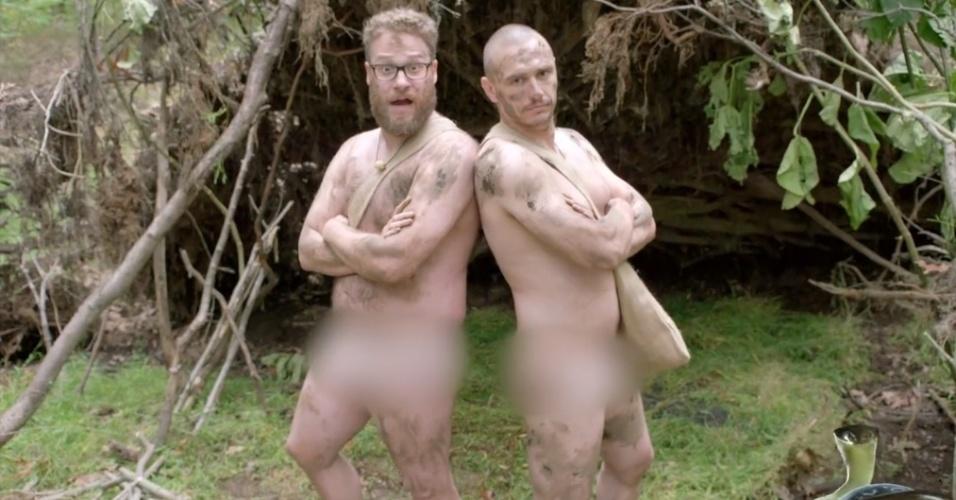 Seth Rogen E James Franco Aparecem Nus Em Reality Show Americano - Ltimas Notcias - Uol Tv E -9397