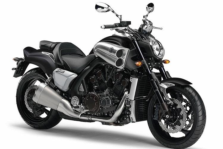 Yamaha VMax do Motoqueiro Fantasma