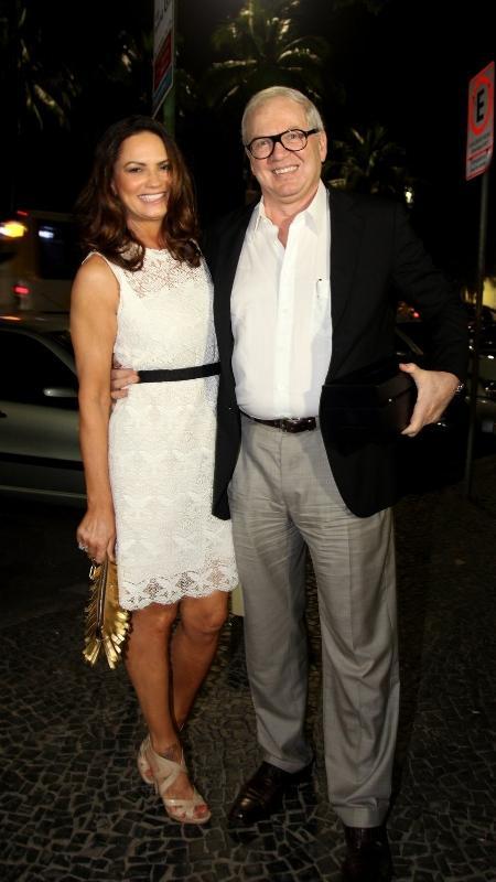 Luiza Brunet e o empresário Lírio Parisotto - Claudio Andrade/Photo Rio News