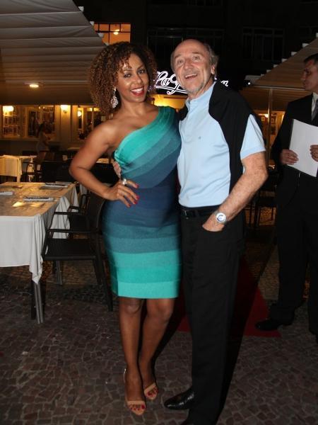 Valéria Valenssa e Hans Donner - Claudio Andrade/Photo Rio News