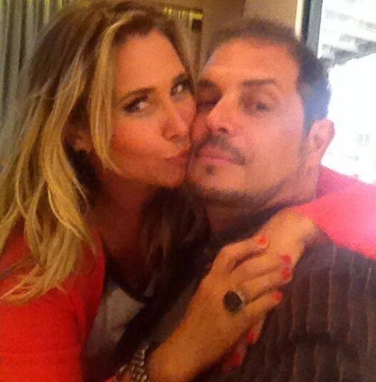 Andréia Sorvetão com o marido Conrado após deixar o reality