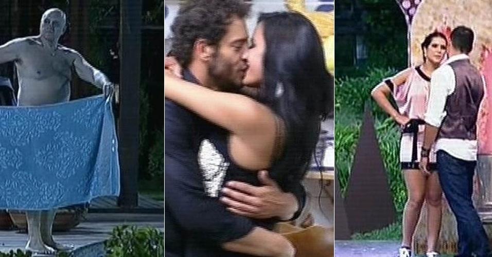 "Maroni nu, Lorena e Diego se beijando e Darlos brigando marcaram última festa de ""A Fazenda 7"""