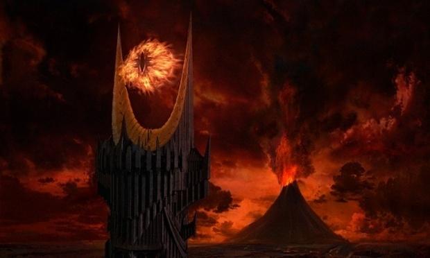 O Olho de Sauron, presente na história de