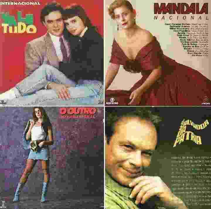 """Os autores do livro """"Teletema"""", que analisa trilhas sonoras de novelas da Globo entre os anos 1960 e 1980,  comentam discos de dez tramas emblemáticas - Reprodução"""