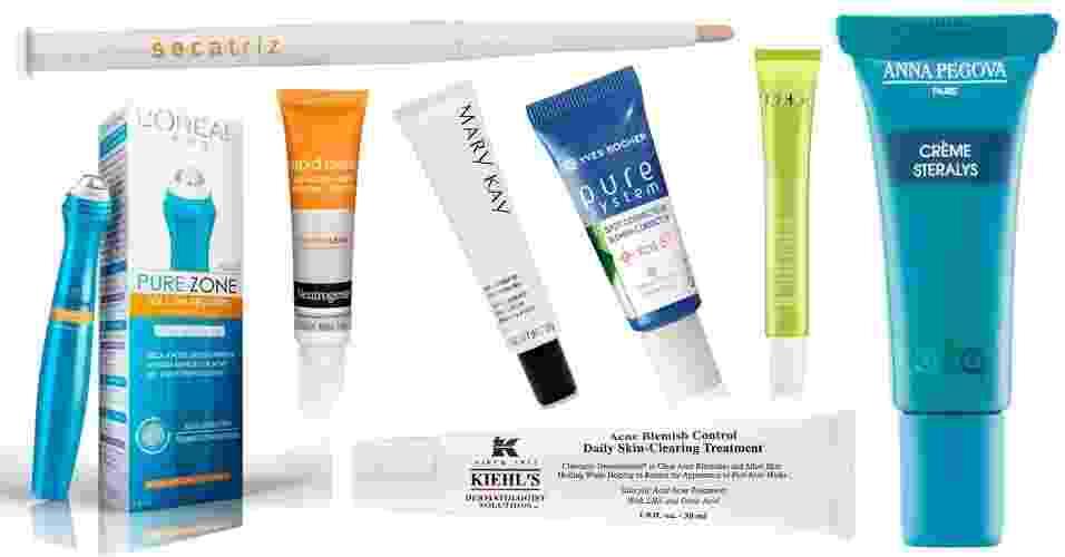 Produtos para acne adulta - - Divulgação