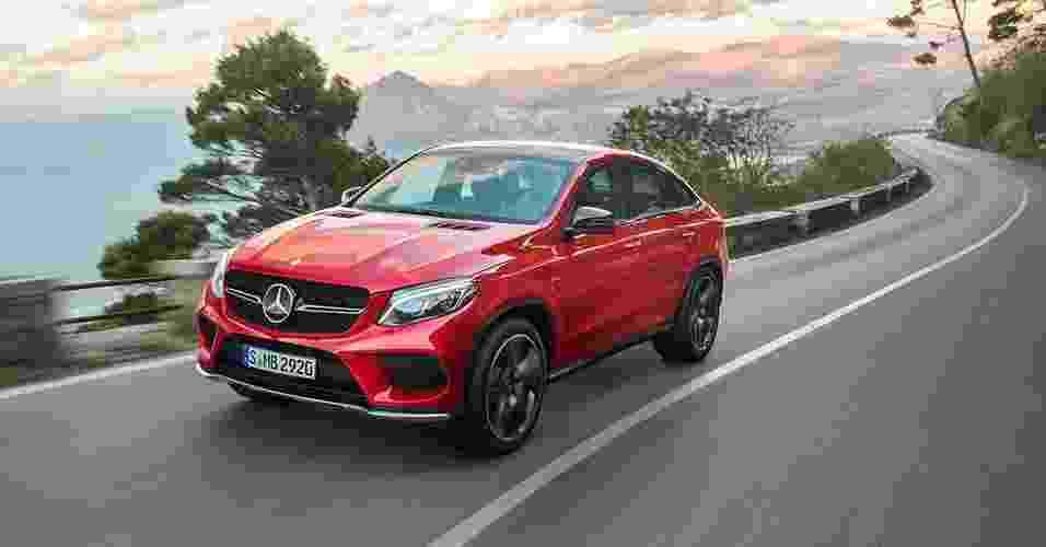 Mercedes-Benz GLE 450 AMG Coupé - Divulgação
